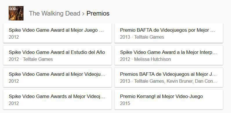 Premios Telltale